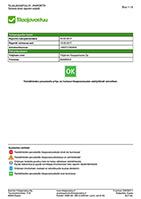 Tilaajavastuuraportti